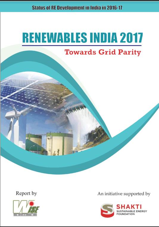 India's renewable energy report 2017