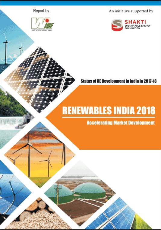 India's renewable energy report 2018