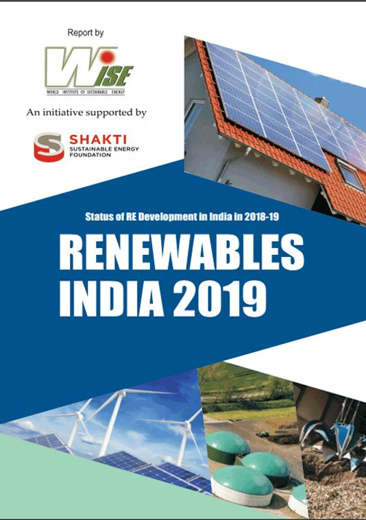 India's renewable energy report 2019